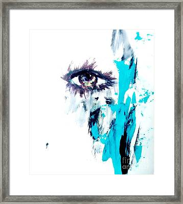Waiting Eye Framed Print by Trilby Cole