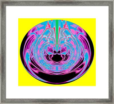 Waiting - Failed Patience Orb 2013 Framed Print by James Warren