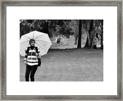 Waiting For A Friend Framed Print by Achmad Bachtiar