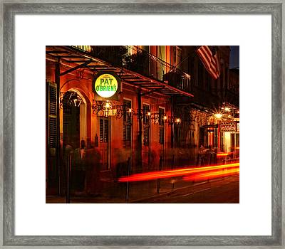 Waiting For A Hurricane Framed Print