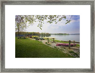 Waiting For Another Year Framed Print by John Holloway