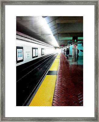 Waiting For Bart Framed Print