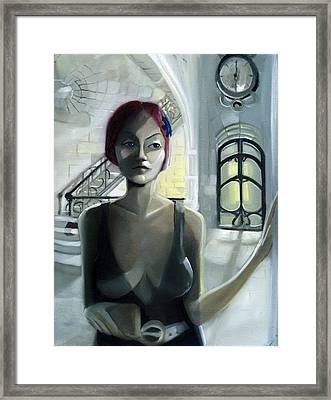 Waiting For Beatriz Framed Print by Neal Cormier