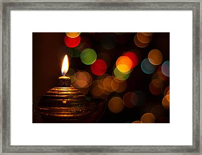 Waiting For Christmas Framed Print by Andrea Mazzocchetti