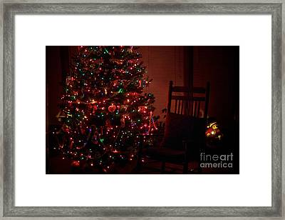 Waiting For Christmas Framed Print