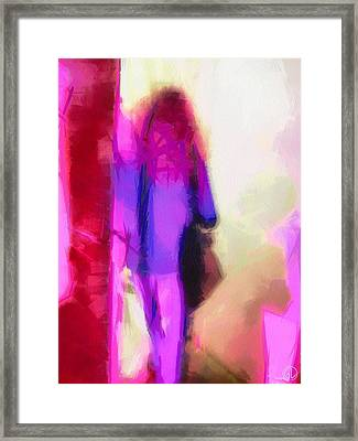 Waiting For Company Framed Print by Gun Legler