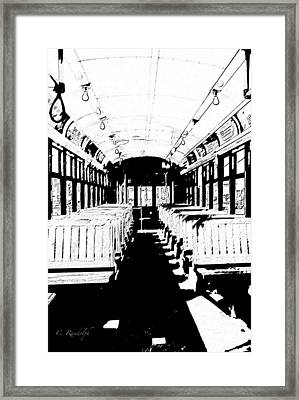 Waiting For Desire Framed Print by Cheri Randolph