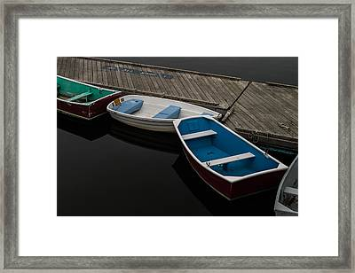 Framed Print featuring the photograph Waiting For Duty by Jeff Folger