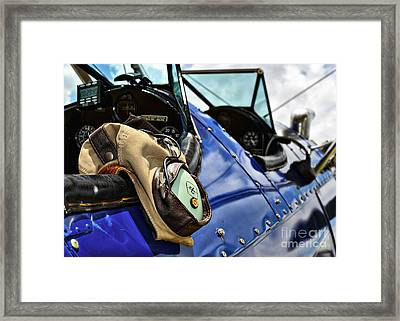 Lets Go Flying Framed Print