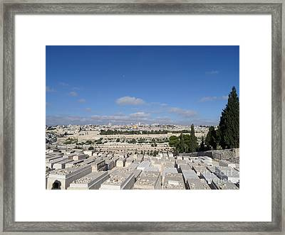 Waiting For God Framed Print