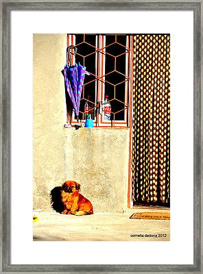 Waiting For Godot Framed Print
