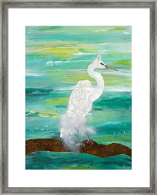 Waiting For Him Framed Print by Brenda Ruark