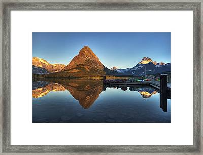 Waiting For Launch Framed Print by Mark Kiver