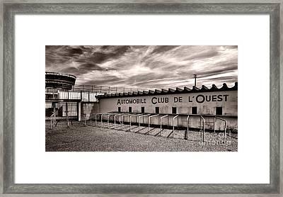 Waiting For Le Mans Framed Print