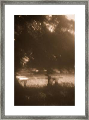 Waiting For Memories - North Framed Print