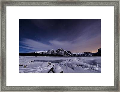 Waiting For Meteors Framed Print by Ginevre Smith