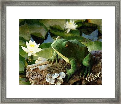Waiting For My Princess Framed Print