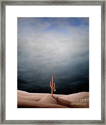 Waiting For Rain Framed Print