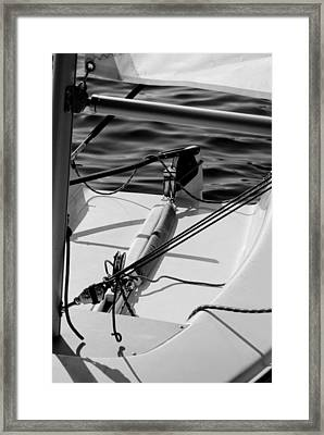 Framed Print featuring the photograph Waiting For Sailors by Erin Kohlenberg