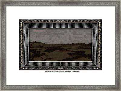Waiting For Something To Happen 2 Framed Print by Pemaro