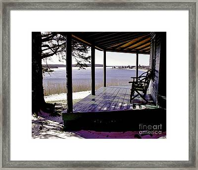 Waiting For Spring 2 Framed Print by Christopher Mace
