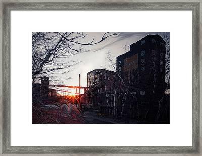 Waiting For Spring... Framed Print