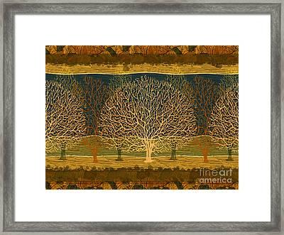 Waiting For Spring Framed Print by Bedros Awak