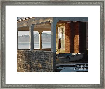 Waiting For Spring Framed Print by Christopher Mace