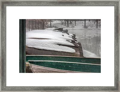 Waiting For Spring Framed Print by JC Findley