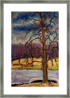 Waiting For Spring Framed Print by Tim  Swagerle