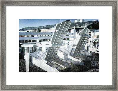 Waiting For Summer Framed Print by Joan Carroll
