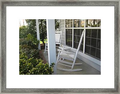 Waiting For Summer Framed Print
