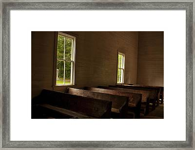 Waiting For Sunday Framed Print