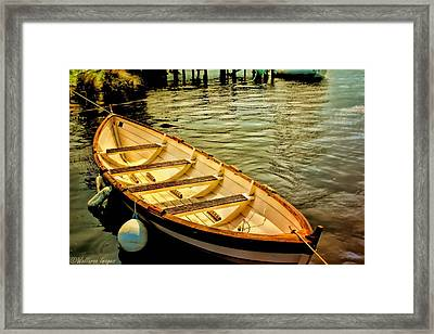 Waiting For The Fisherman Framed Print by Wallaroo Images