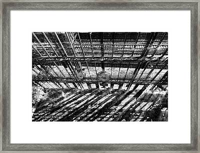 Waiting For The High Noon Train Framed Print by Aleksander Rotner