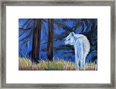 Waiting For The Pack Framed Print by Harriet Peck Taylor