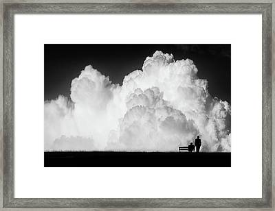 Waiting For The Storm Framed Print by Stefan Eisele