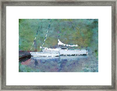 Waiting For The Wind Framed Print by Betty LaRue