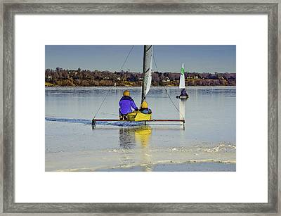 Waiting For Wind Framed Print