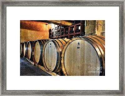 Waiting For Wine 2 Framed Print
