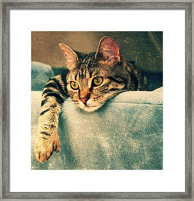 Waiting For You... Framed Print