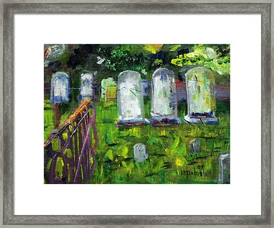 Waiting For You Framed Print