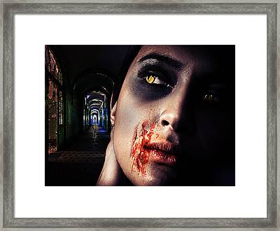 Waiting For You Framed Print by Nathan Wright