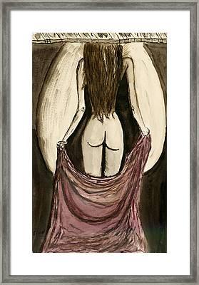 Waiting  For You..... Framed Print by Shlomo Zangilevitch