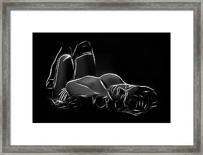 Waiting For You Framed Print by Steve K