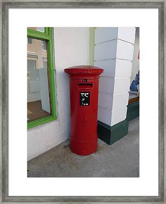 Waiting For Your Letter Framed Print by Richard Reeve