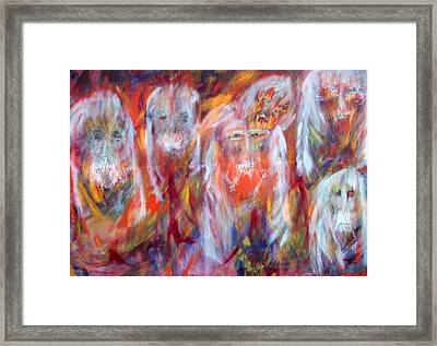 Waiting Ghosts Framed Print by Randall Ciotti