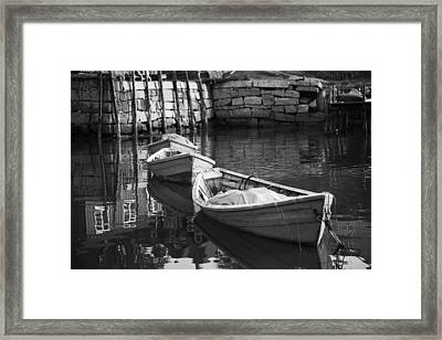 Waiting In Line Framed Print by Don Powers