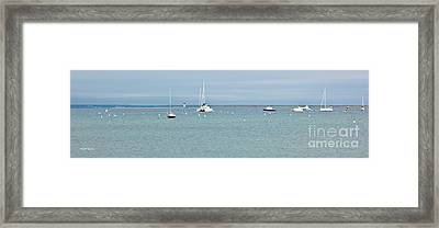 Waiting In Provincetown Framed Print by Michelle Wiarda