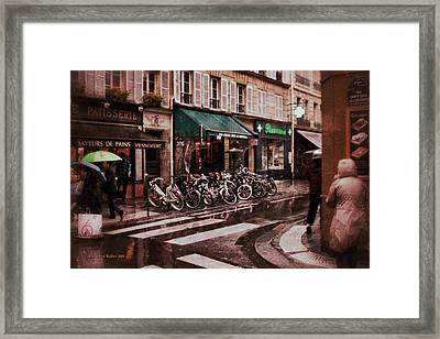 Waiting In The Bar For The Rain To Pass #2 Framed Print by Aleksander Rotner